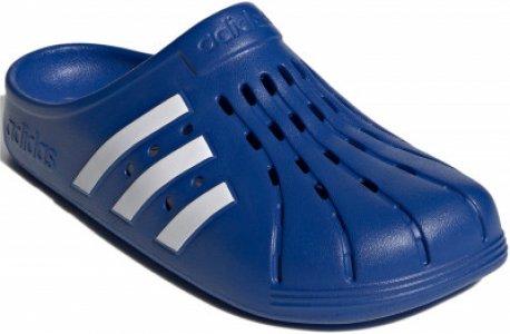 Шлепанцы мужские adidas Adilette Clog, размер 39. Цвет: синий