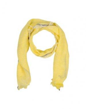 Шарф IL GUFO. Цвет: желтый