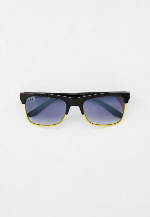 Очки солнцезащитные Plein Sport. Цвет: черный