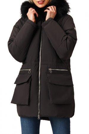 Пальто Finn Flare. Цвет: 200 black