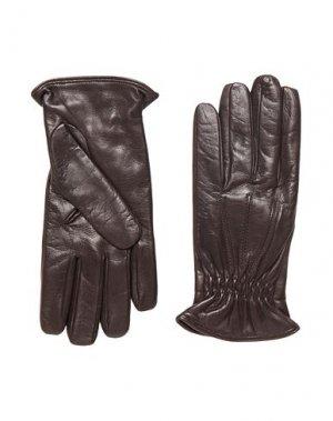Перчатки 8 by YOOX. Цвет: темно-коричневый