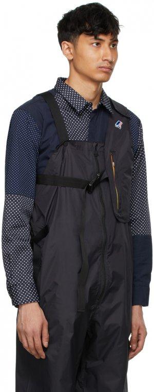 Black K-Way Edition Kayden 3.0 Vest Bag Engineered Garments. Цвет: black