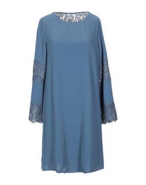 Короткое платье DRY LAKE.. Цвет: грифельно-синий