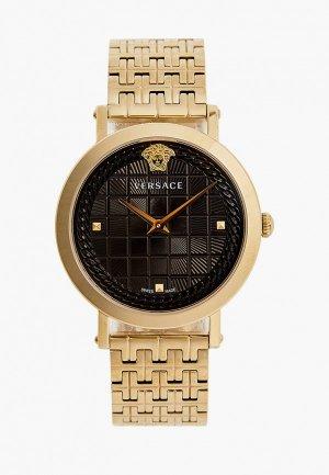 Часы Versace. Цвет: золотой