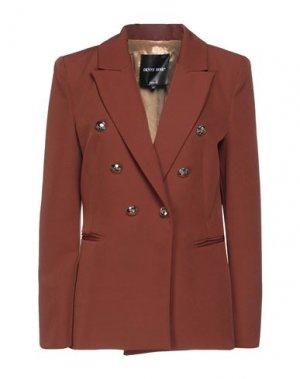 Пиджак DENNY ROSE. Цвет: коричневый