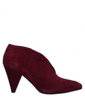Ботинки FORNARINA. Цвет: красно-коричневый