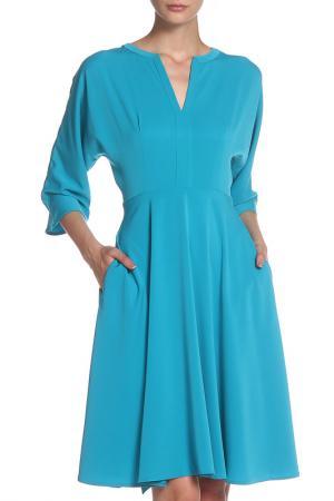 Платье IQDRESS. Цвет: бирюзовый