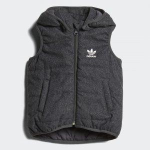 Жилет Originals adidas. Цвет: серый