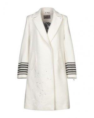 Пальто MASON'S. Цвет: белый