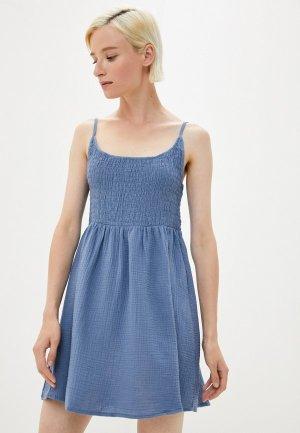 Сарафан Cotton On. Цвет: синий