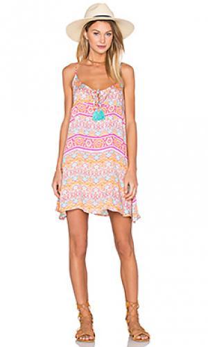 Мини платье mini MINKPINK. Цвет: оранжевый