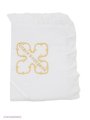 Полотенце Ангел мой. Цвет: белый, золотистый