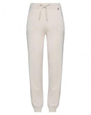 Повседневные брюки DIXIE. Цвет: слоновая кость