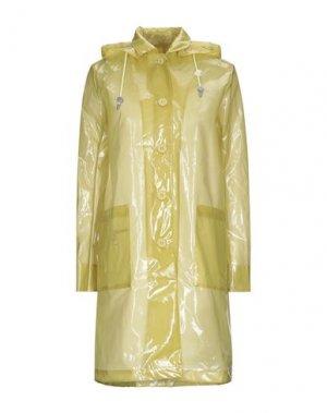 Легкое пальто K-WAY. Цвет: кислотно-зеленый