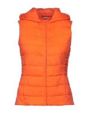 Пуховик COLOMBO. Цвет: оранжевый