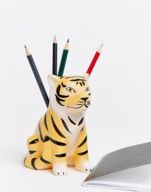 Стакан для ручек в виде тигра Typo-Мульти TYPO