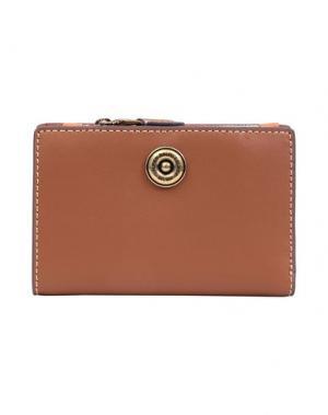 Бумажник LAUREN RALPH. Цвет: желто-коричневый