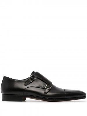 Туфли монки Magnanni. Цвет: черный