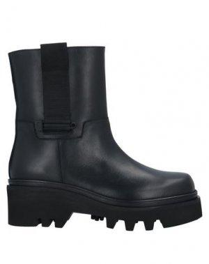 Полусапоги и высокие ботинки JOHN GALLIANO. Цвет: черный