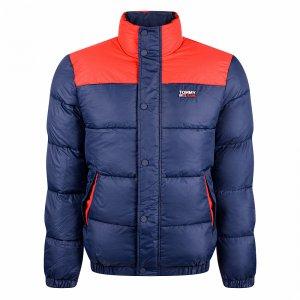 Corp Puffa Jacket Tommy Jeans. Цвет: темно-синий
