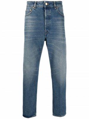 Прямые джинсы Golden Goose. Цвет: синий