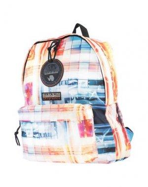 Рюкзаки и сумки на пояс NAPAPIJRI. Цвет: светло-желтый