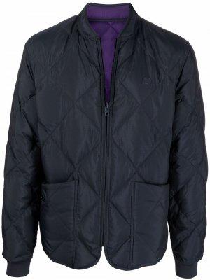 Двусторонняя стеганая куртка Kenzo. Цвет: синий