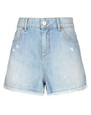 Джинсовые шорты .AMEN.. Цвет: синий
