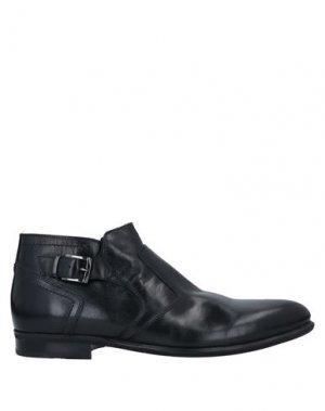 Полусапоги и высокие ботинки NERO GIARDINI. Цвет: черный