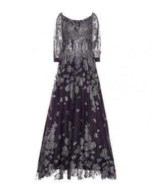 Длинное платье JOVANI. Цвет: фиолетовый