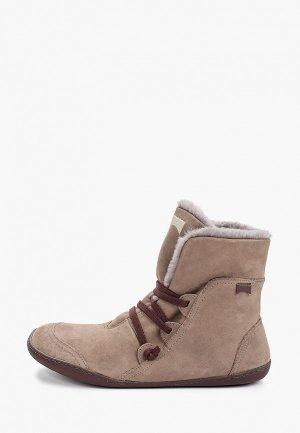 Ботинки Camper Peu Cami. Цвет: коричневый