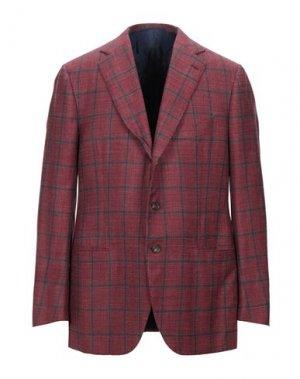 Пиджак CESARE ATTOLINI. Цвет: кирпично-красный