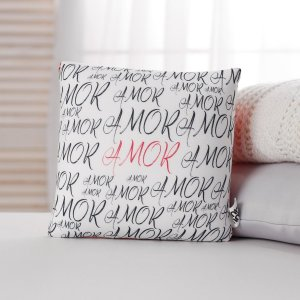 Подушка-антистресс amor, с открыткой, 20х20 см mni mnu