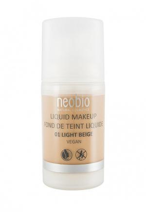 Тональный крем Neobio 01 светло-бежевый , 30 мл. Цвет: бежевый