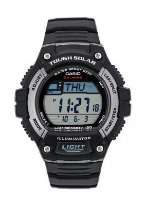Часы Casio Collection W-S220-1A. Цвет: черный