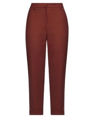 Повседневные брюки GOSSIP. Цвет: коричневый