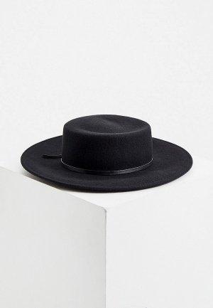 Шляпа Weekend Max Mara LORA. Цвет: черный
