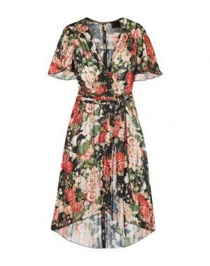 Короткое платье ANNA SUI. Цвет: черный