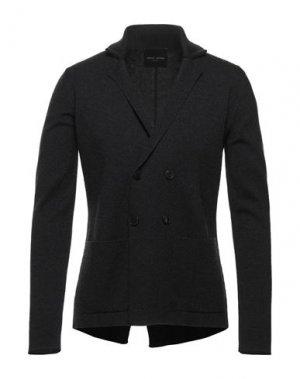 Пиджак ROBERTO COLLINA. Цвет: стальной серый