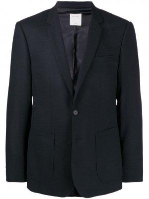 Приталенный пиджак Sandro Paris. Цвет: синий