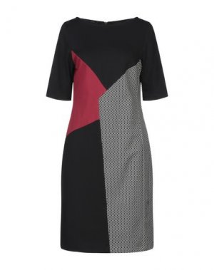 Платье до колена HANITA. Цвет: черный