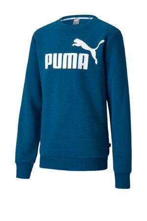 Свитшот Puma. Цвет: синий