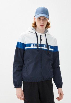 Куртка Indicode Jeans. Цвет: синий