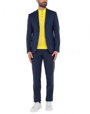 Пиджак ALESSANDRO GILLES. Цвет: темно-синий