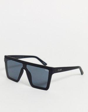 Черные солнцезащитные очки -Черный Quay Australia