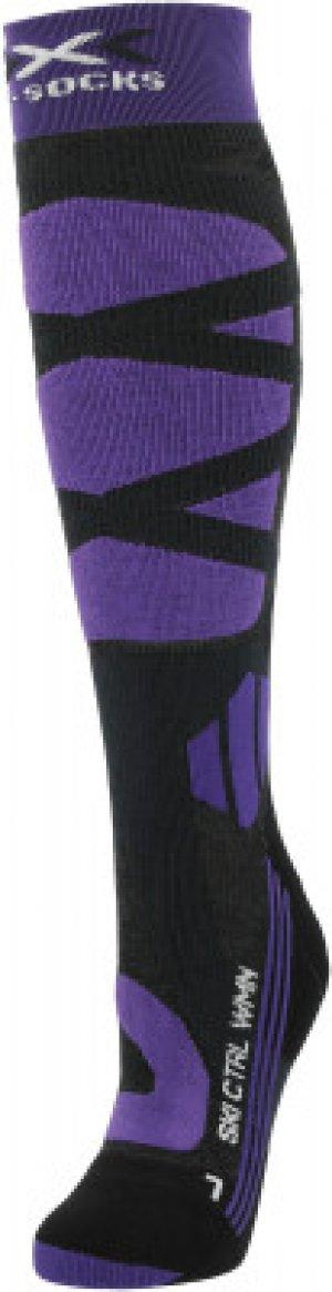 Гольфы женские , 1 пара, размер 37-38 X-Socks. Цвет: серый