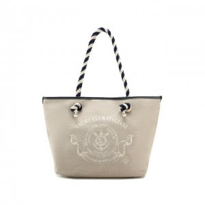 Пляжная сумка Maestrale Bonfanti. Цвет: бежевый