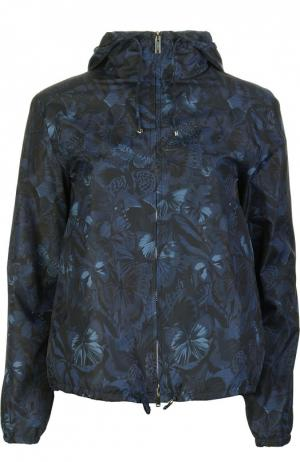 Куртка-ветровка Valentino. Цвет: темно-синий