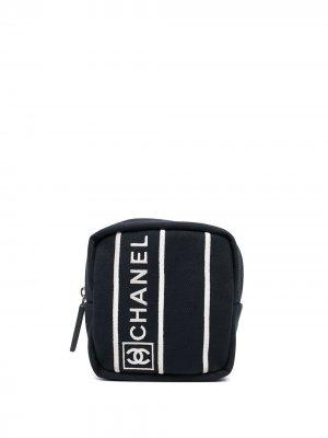 Сумка и мячи для тенниса Sports Line Chanel Pre-Owned. Цвет: синий