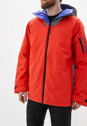 Куртка горнолыжная Burton M HILLTOP JK. Цвет: красный